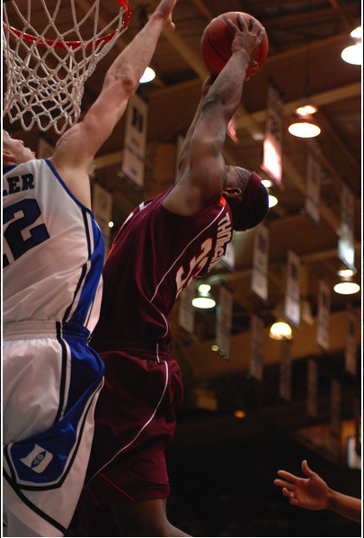 Virginia Tech Forward J.T. Thompson (Courtesy of DukeBluePlanet.com)