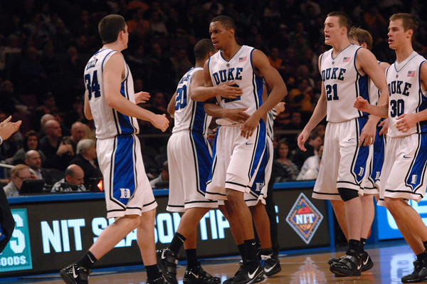 It was a team effort in New York, as Duke brings home the NIT Season Tip-Off Title. Happy Thanksgiving! (Courtesy of DukeBluePlanet.com)